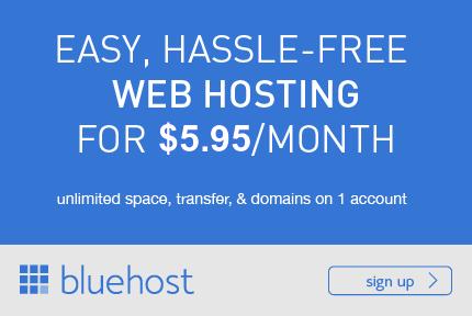 Make money online blogging with a blog and Web Hosting