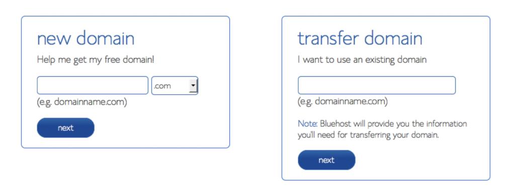 Web hosting tutorial for BlueHost WordPress Websites